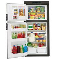 Dometic Americana Plus DM2662 2-Way Refrigerator without Icemaker, Double Door, 6.0 Cu. Ft.