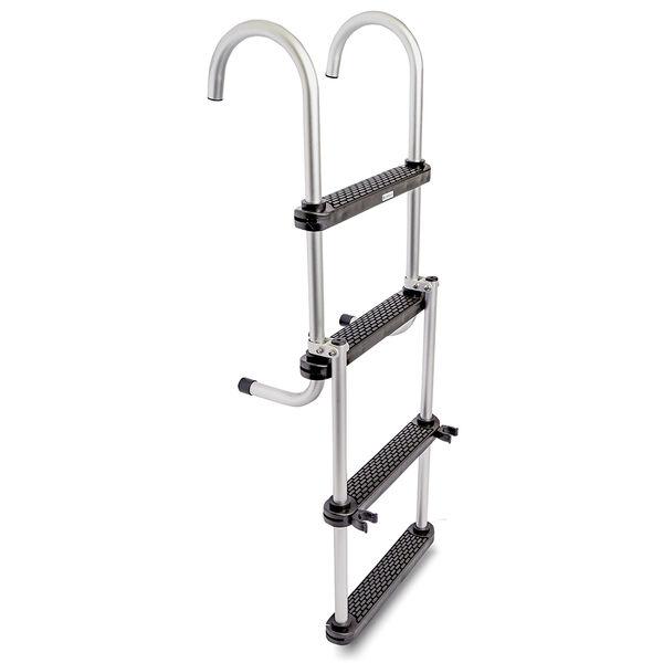 Toonmate Removable Folding Pontoon Ladder 4-Step