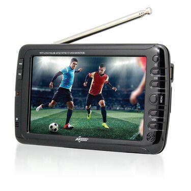 """Portable Widescreen LCD TV, 7"""""""