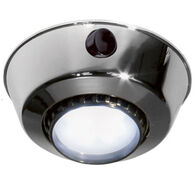 FriLight Comet S Adjustable (Swivel) Surface Mount Ceiling LED Light with Switch, Chrome Frame and Cool White LED
