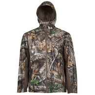 Guide Series Men's Camo Rain Jacket, Realtree Edge