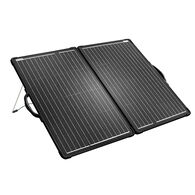 ACOPOWER All Black 100W Lightweight Mono Foldable Solar Suitcase