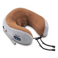 TRAKK Wireless Massage Travel Pillow, Brown