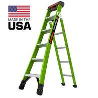 Little Giant Ladders King Kombo Pro Fiberglass 6' Ladder