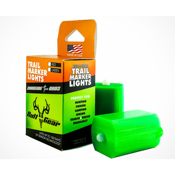 Rutt-Gear Green Trail Marker Lights, 2-pack