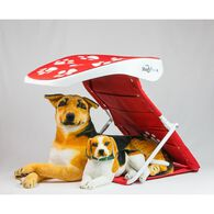 ShadyPaws Traveling Pet Shade, Red