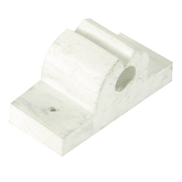 "Rubber Rod/Tool Holder, 3/8"" white"
