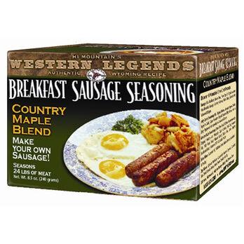 Hi Mountain Country Maple Breakfast Sausage Kit