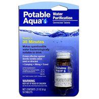 Potable Aqua Water Purification Tablets, 50-Count
