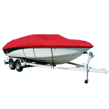 Exact Fit Sharkskin Boat Cover For Yamaha 230Ar-Sx-Sr Jet W/Bimini Laid Aft