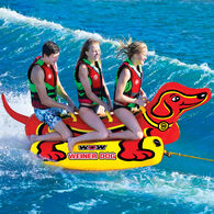 WOW 3-Person Weiner Dog Towable Tube