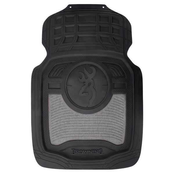 Browning Front Floor Mats – Heather Gray, Set of 2