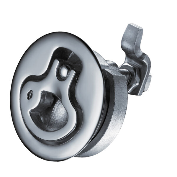 Southco Medium Lift & Turn Latch - Stainless Steel - Locking - ShortCam Offset