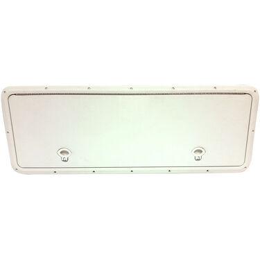 """DPI Marine DPF White Flush Series Hatch Door, 13"""" x 36"""" O.D. frame"""