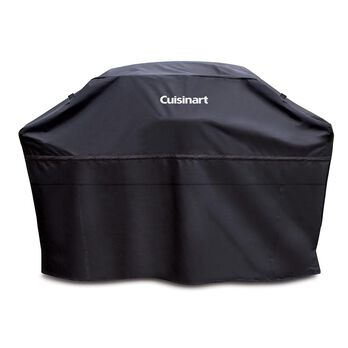 "Cuisinart Heavy Duty Barbecue Grill Cover, 65"", Black"