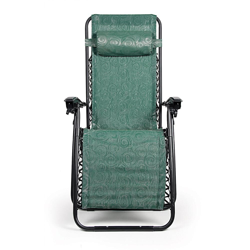 Zero Gravity Chair Regular Green Swirl Camping World