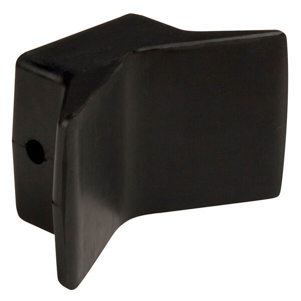 """Smith Natural Rubber Bow Y-Stop Roller, 4"""" x 4"""""""