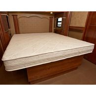 "MotorHome InnerSpace - Luxury Deluxe 8"" Memory Foam RV - Mattress-In-A-Box, Short Queen"
