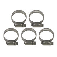 Sierra Stainless Steel Clamp Set For Volvo Engine, Sierra Part #18-7306-9