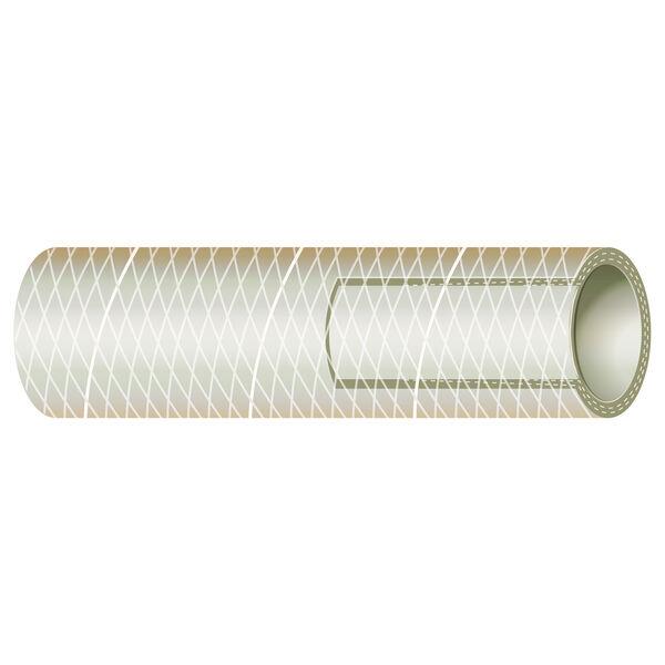 "Sierra 1-1/4"" Clear PVC Tubing, 25'L"