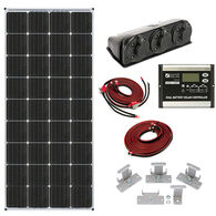 Zamp Solar 170-Watt Dual Battery Bank Roof Mount Kit
