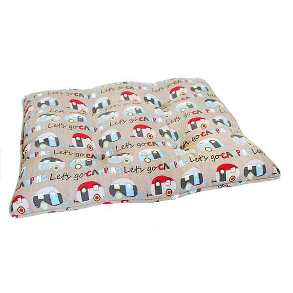 Gone Camping Pet Bed