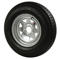 Kenda Loadstar 205/75 x 15 Bias Trailer Tire w/5-Lug Galvanized Spoke Rim