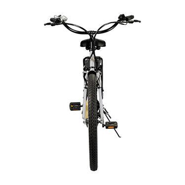 Swagtron EB-10 E-Bike, White and Gold