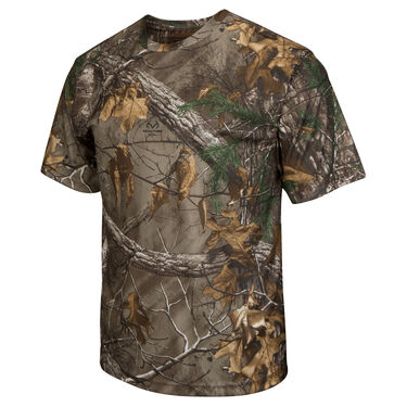 Realtree Men's Poly Short-Sleeve Tee