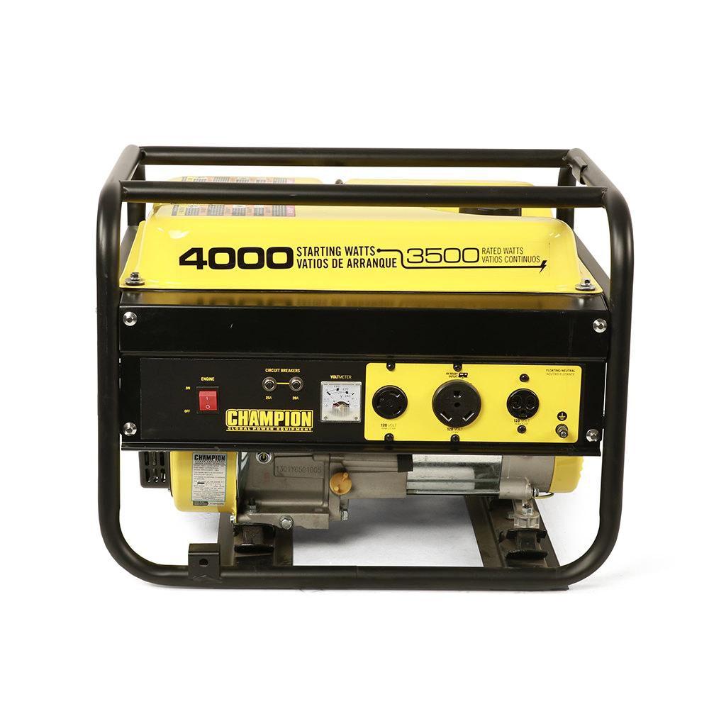 Champion 4000 Watt Portable Generator 49 State Model