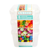 Waverly 6-Piece Lock-Lid Food Storage Container Set