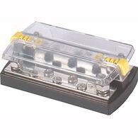 "Blue Sea DualBus 150-Amp Common Busbar - (5) #10-32 Screws, (2) 5/16""-18 Studs"