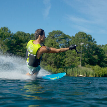 Connelly V Slalom Waterski With Left Sync Binding And Rear Toe Plate