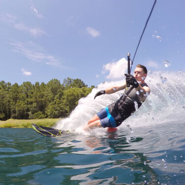 Connelly GT Slalom Waterski With Double Sync Bindings