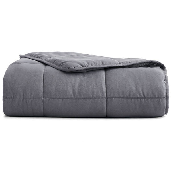 Sutton Home Fashions 12-lb. Weighted Blanket, Charcoal