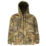 Hunter's Choice Men's Gritty Insulated Jacket, Realtree Edge Camo