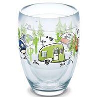 Tervis® Wine Glass, 9 oz., Retro RV Stemless