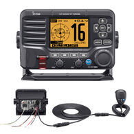 ICOM M506 VHF Radio With Rear Mic