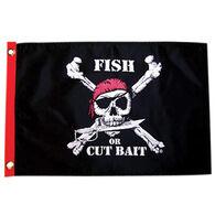 """Fish or Cut Bait, 12"""" x 18"""""""