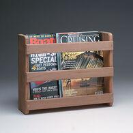 SeaForce Teak Magazine Rack