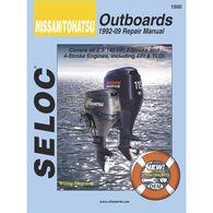Sierra Service Manual For Nissan/Tohatsu Engine, Sierra Part #18-01500