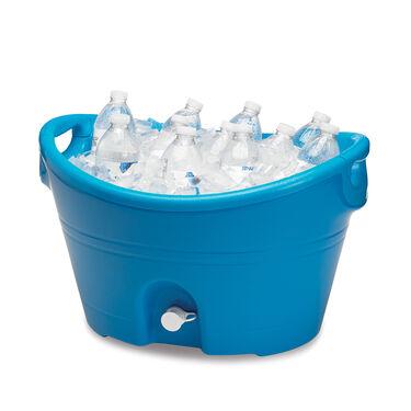 "20 Qt. Party Bucket, 20"" x 18"" Blue"
