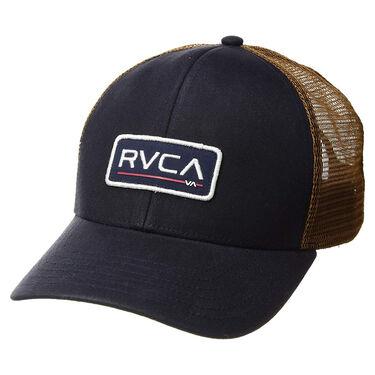 RVCA Men's Ticket Trucker II Snapback Cap