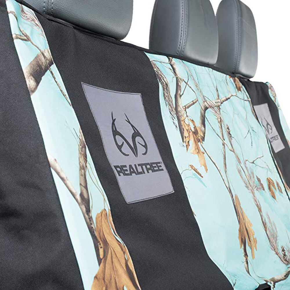 Realtree Full Size Bench Seat Cover Ap Cool Mint Camo