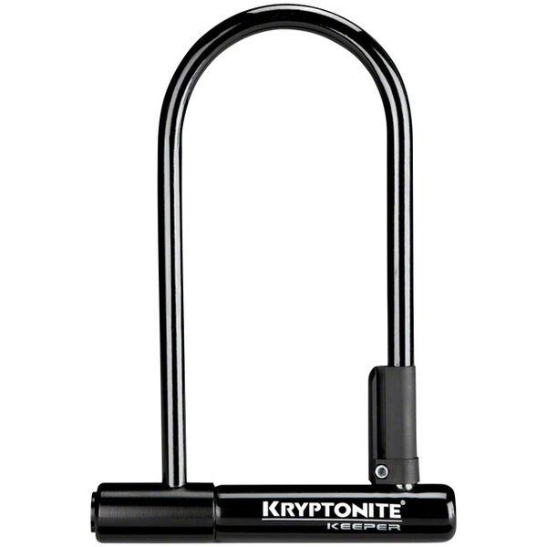 """Kryptonite Keeper Standard U-Lock, 4"""" x 8"""""""