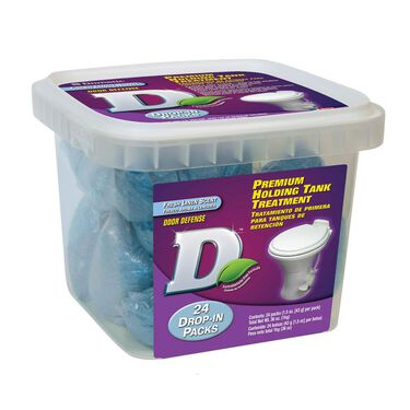 Dometic Premium Holding Tank Treatments, 24 Pack Drop-Ins