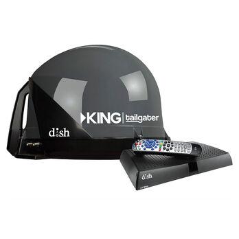 KING Tailgater Satellite Antenna with DISH ViP211z Satellite Receiver