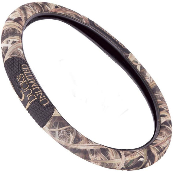 Ducks Unlimited 2-Grip Steering Wheel Cover, Mossy Oak Shadow Grass Blades Camo