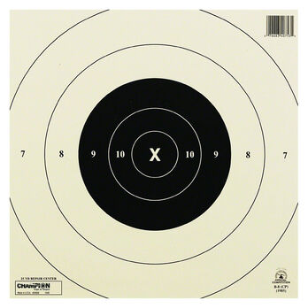 Champion Target 25 Yard Timed & Rapid Fire Official NRA Targets, Paper, 12-Pk
