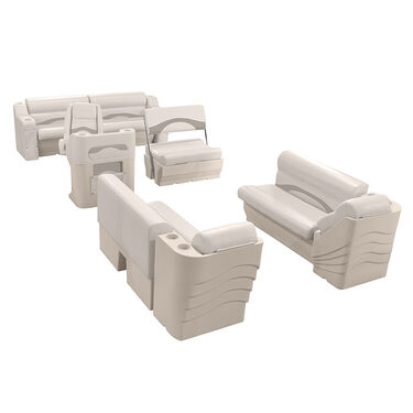Toonmate Premium Pontoon Furniture Package, Traditional Pontoon Group